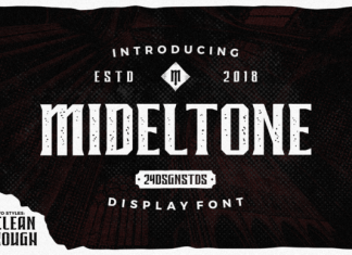 Mideltone Font