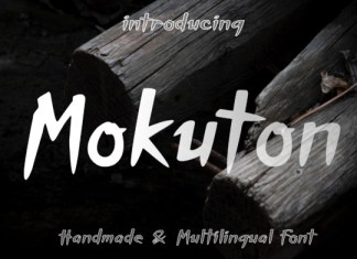 Mokuton Font