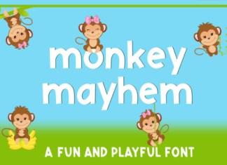 Monkey Mayhem Font