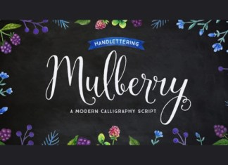 Mulberry Font