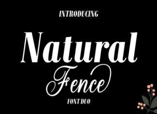 Natural Fence Font