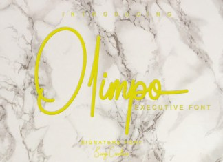 Olimpo Font