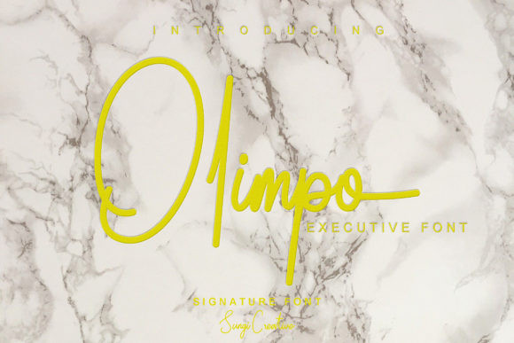 Olimpo Font