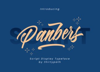Panbers Font