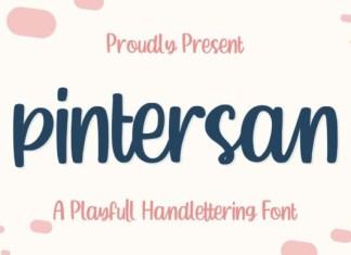 Pintersan Font