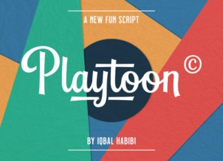Playtoon Font