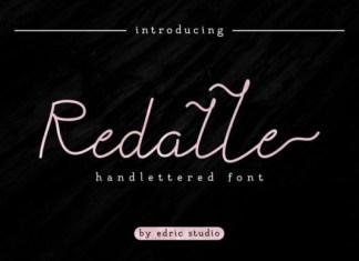 Redalle Font