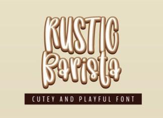 Rustic Barista Font
