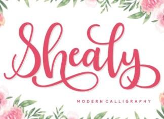 Shealy Font