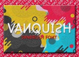Vanquish Font