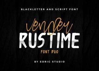 Vender Rustime Font