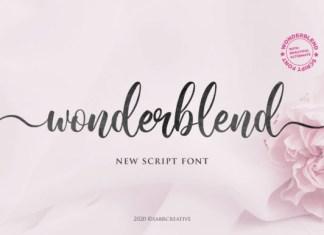 Wonderblend Font
