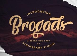 Brogads Font