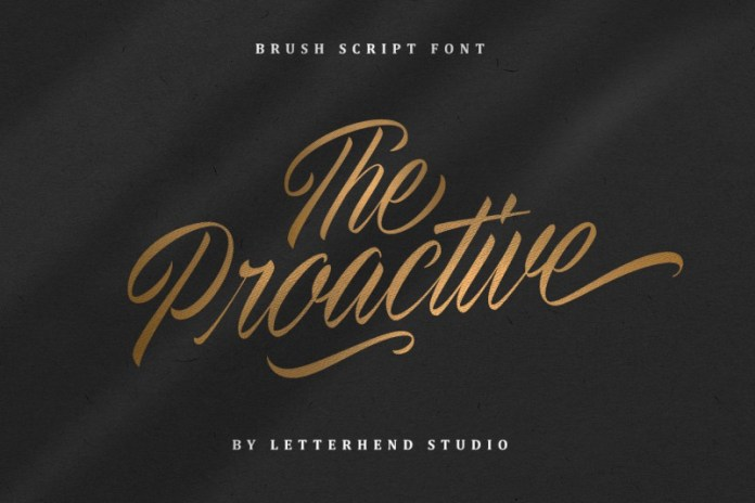 The Proactive Font