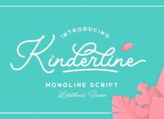 Kinderline Font