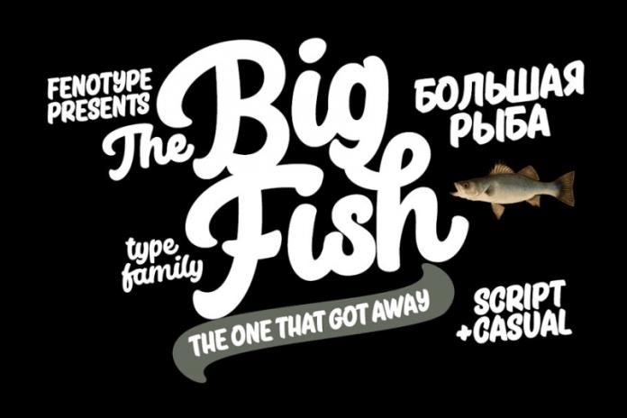 Big Fish Font
