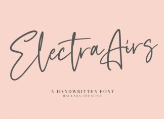 Electra Airs Font