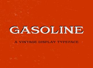Gasoline Font