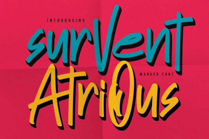 Survent Atrious Font