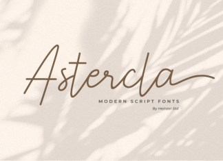 Astercla Font