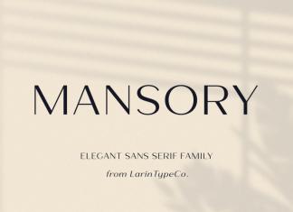 Mansory Font