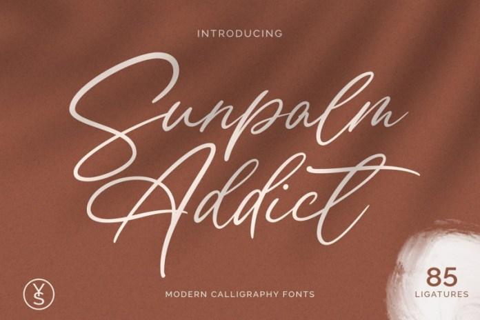 Sunpalm Addict Font