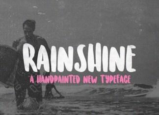 Rainshine Font