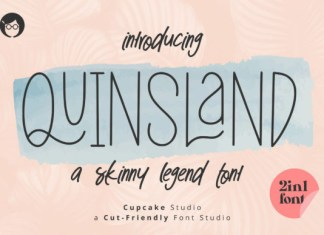 AL Quinsland 2in1 Font