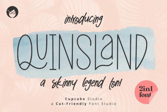 AL Quinsland 2in1 Font