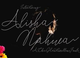 Alisha Nahwa Font