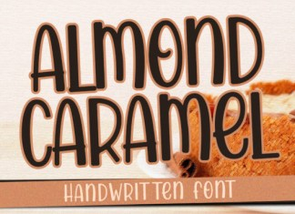 Almond Caramel Font