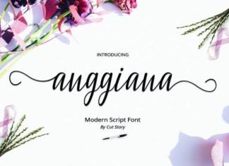 Anggiana Font