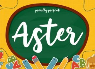 Aster Font