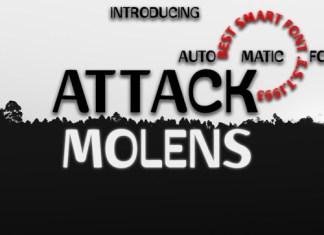 Attack Molens Font