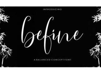 Befine Font