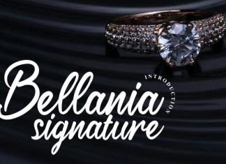 Bellania Font