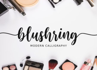 Blushring Font