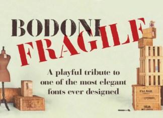 Bodoni Fragile Font