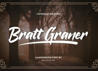 Bratt Graner Font