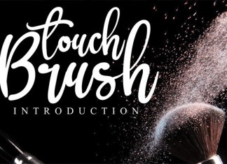 Brush Touch Font