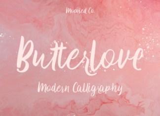 Butterlove Font