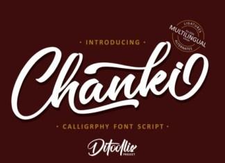 Chanki Font
