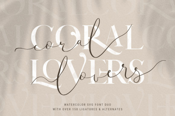 Coral Lovers Font