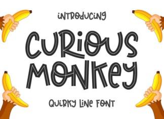 Curious Monkey Font