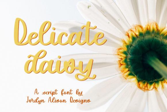 Delicate Daisy Font