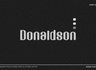 Donaldson Font