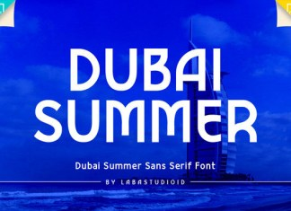 Dubai Summer Font