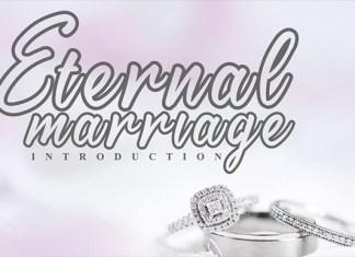 Eternal Marriage Font