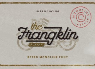 The Frangklin Font