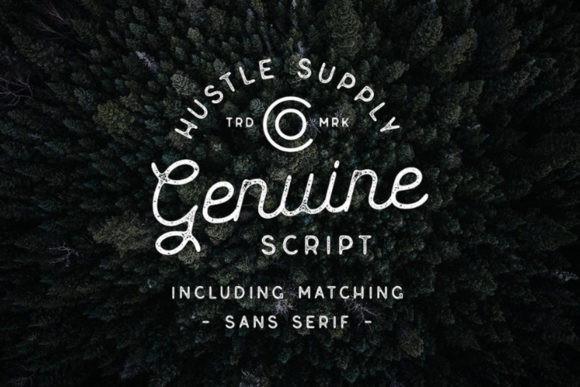 Genuine Font